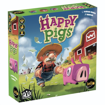 Happy Pigs board game box
