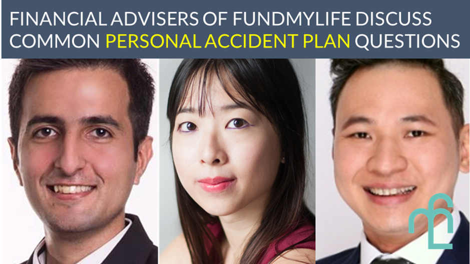 fundMyLife FAs talk about common questions on personal accident plans