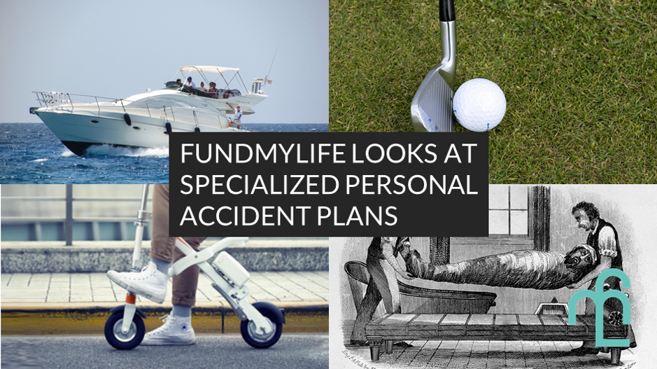 fundMyLife examines specialized personal accident plans