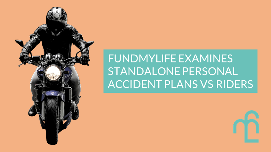 fundMyLife examines the difference between personal accident plan and personal accident riders