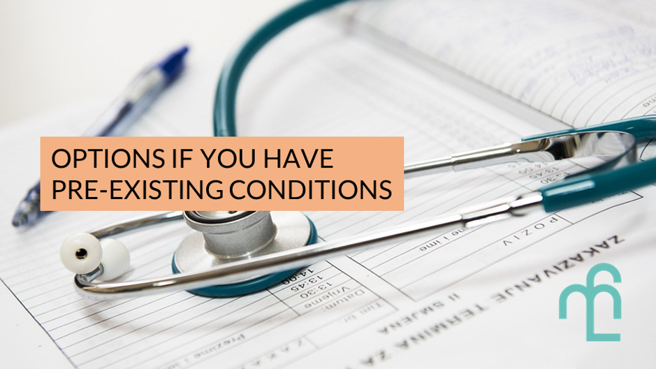 Insurance for pre-existing conditions