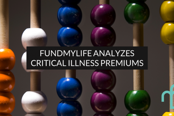 Comparison between different critical illness plan premiums